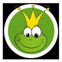 Logo Frosch Kinder und Jugendliche