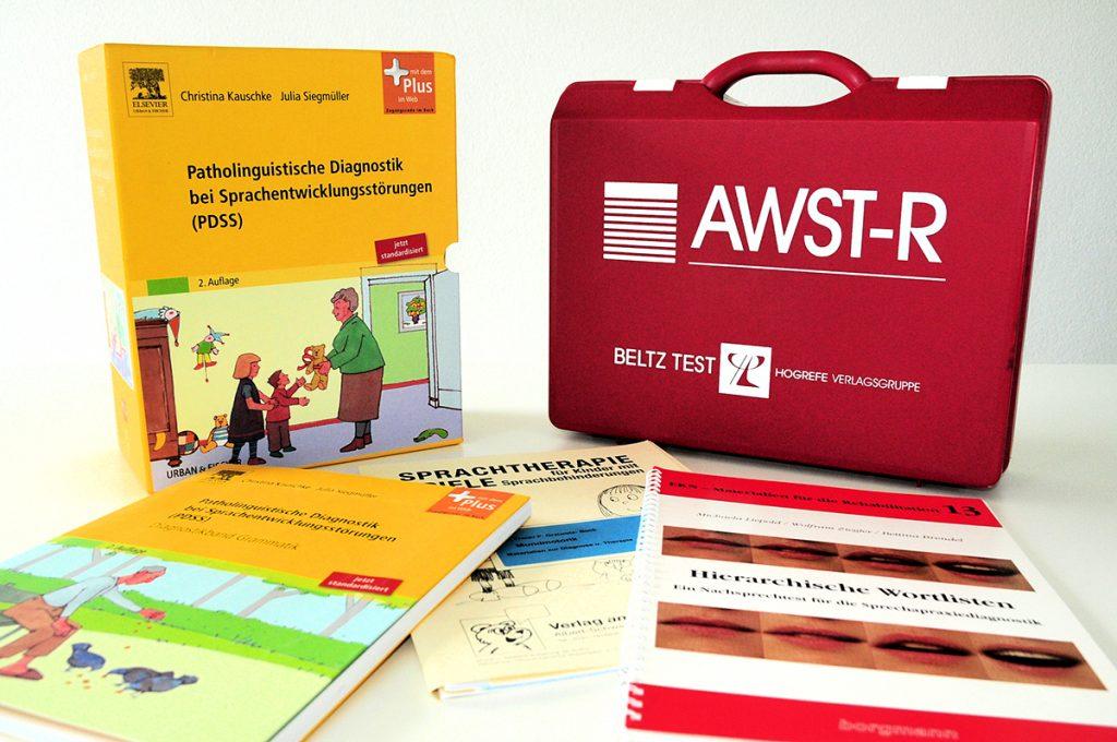 Logopädische Hilfsmittel und Lernmaterial